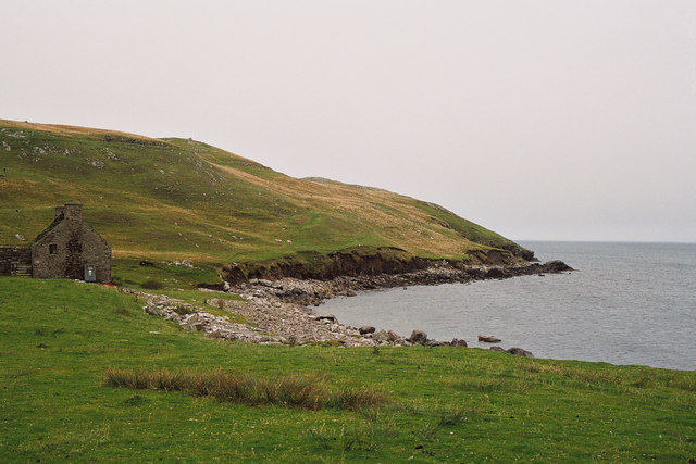 Beach of East Lunna Voe