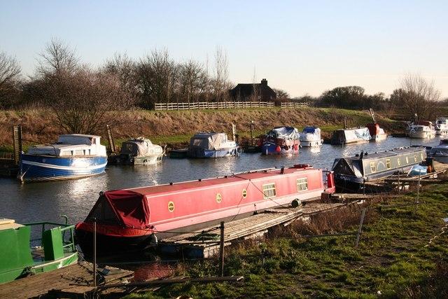 Boats on Kyme Eau