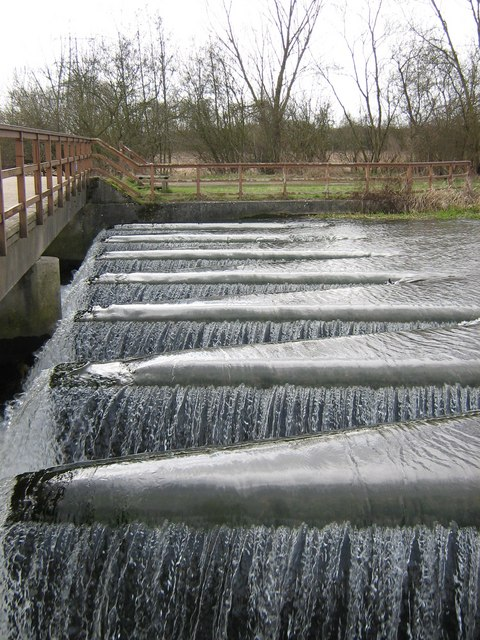 Weir on the River Kennet