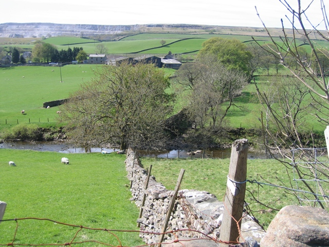 The River Ribble and Blind Beck