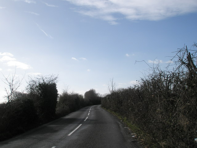 Looking south west down West Lane