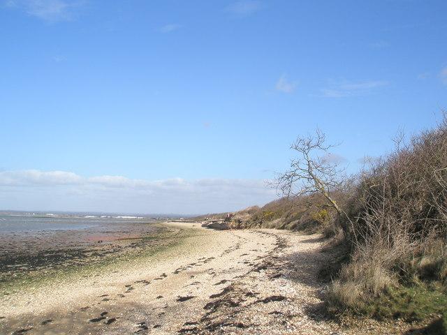 Looking northwards towards Langstone