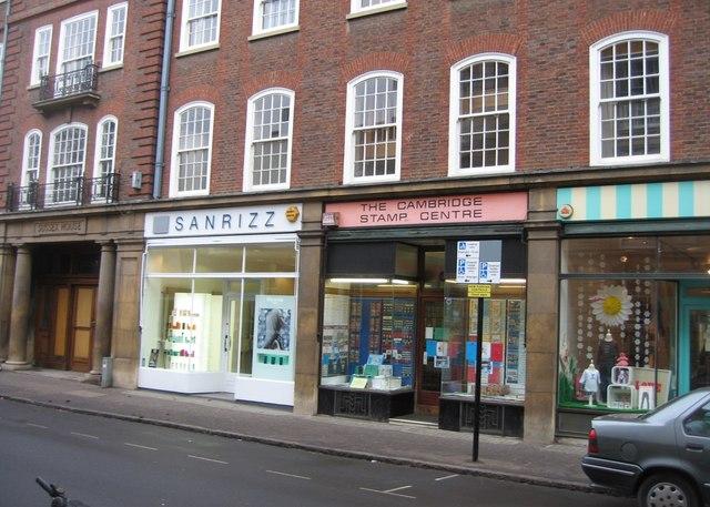 Shops in Hobson Street