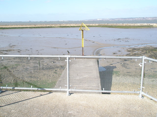 Small jetty at North Hayling
