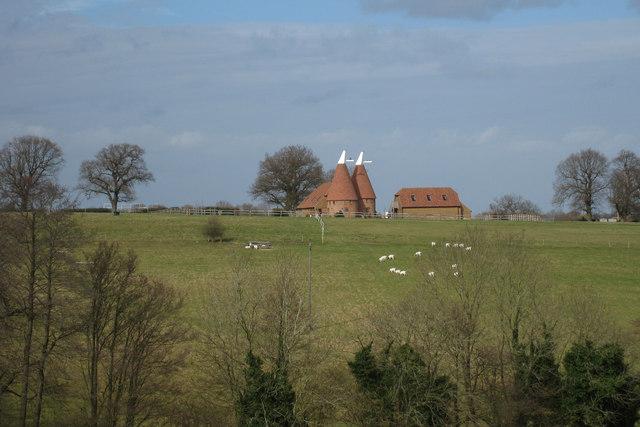 Morley Farm Oast, Beckley Road, Northiam, East Sussex