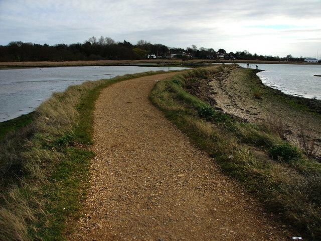 Footpath Warsash, Bunny Meadows