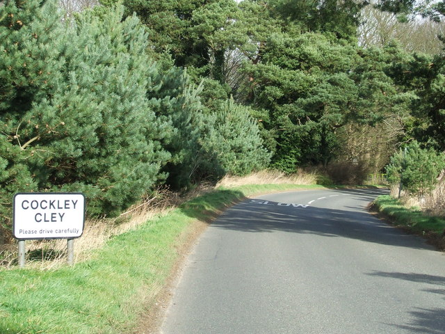 Entrance to Cockley Cley