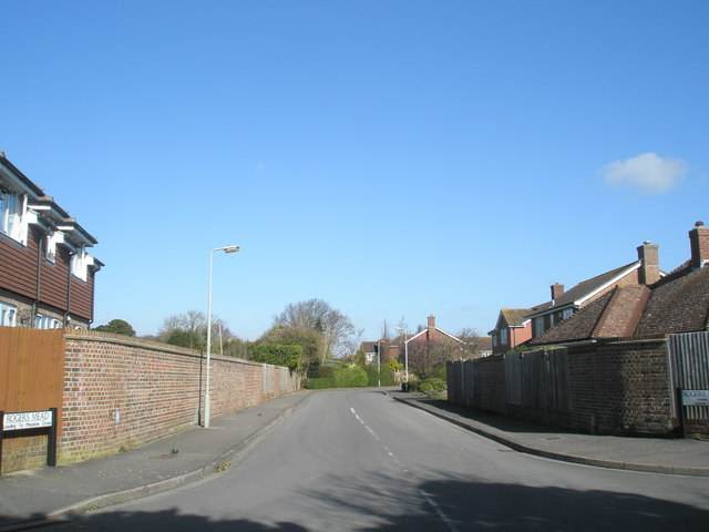 Junction of Rogers Mead and Victoria Road, North Hayling
