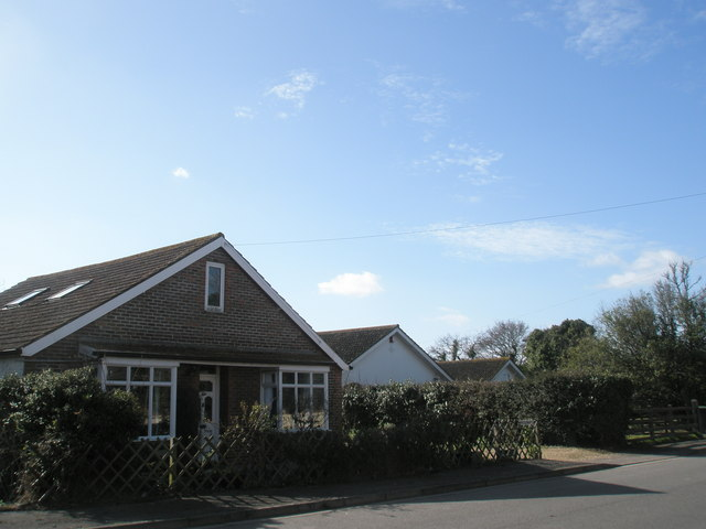 Houses in Victoria Road, North Hayling
