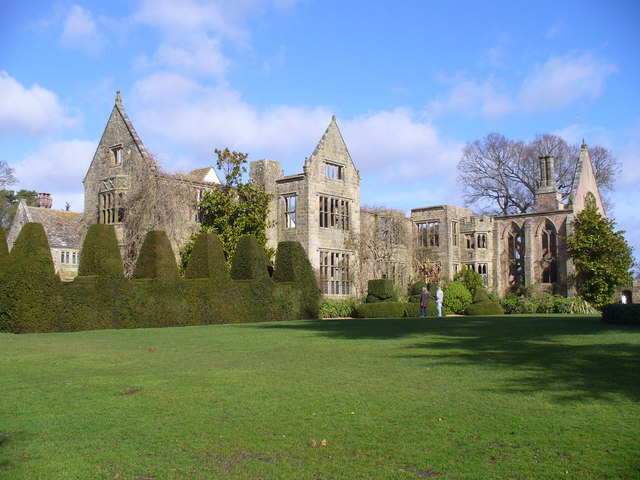 Nymans, Southern Frontage