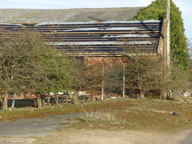 Derelict Farm Building, Harford Farm