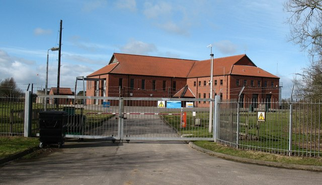 Huby water treatment works