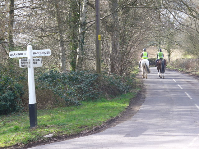 Riding at Slaugham Common