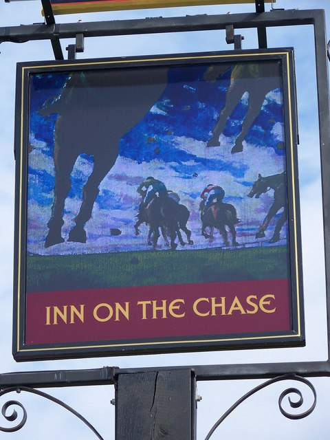 Sign for the Inn on the Chase