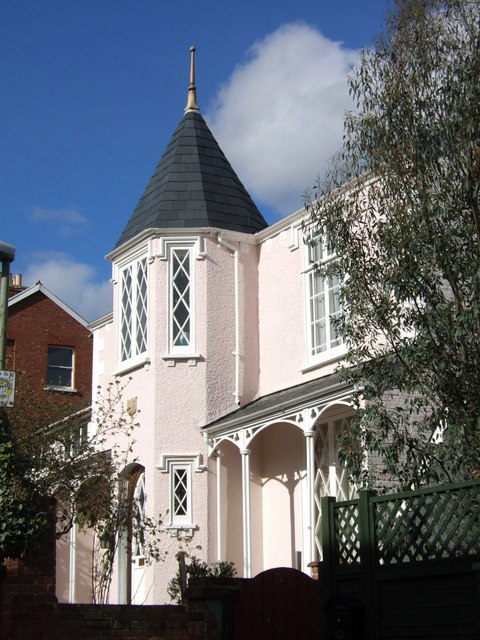 House in Devonshire Place, Exeter