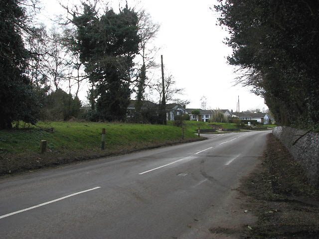 Approaching Bradenham on Church Street