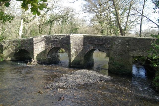 Clapper Bridge - upstream side