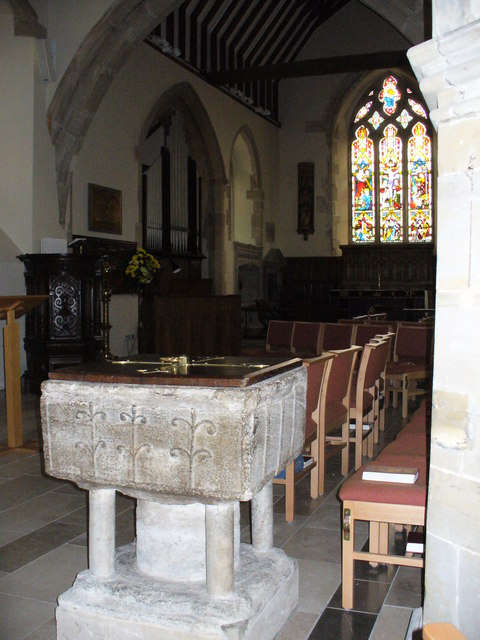 St Mary's Font, Slaugham