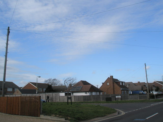 Junction of Charleston Close and West Lane