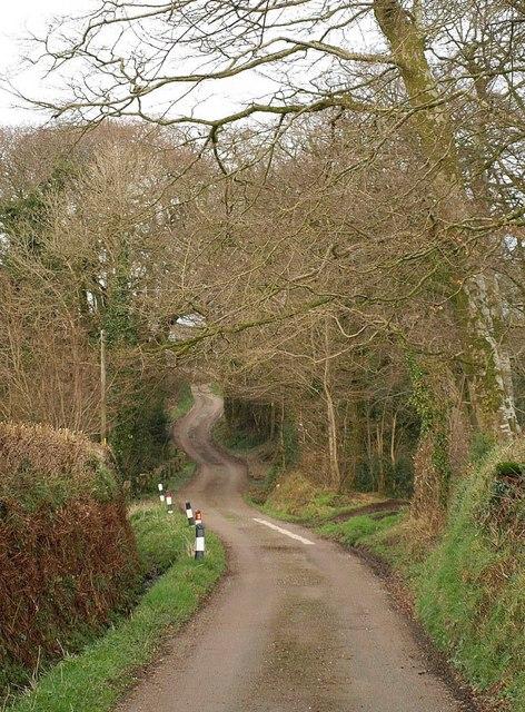 Lane near Trevell