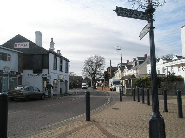 Centre of West Town, Hayling Island