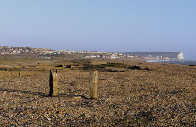 Ruins of the Marine Hospital, Seaford Beach.
