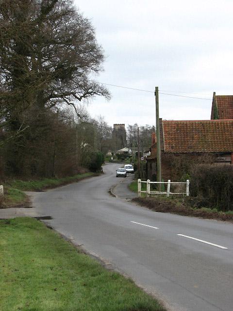 View east along Church Street