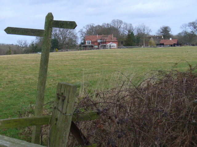 Towards Slaughamplace Farm