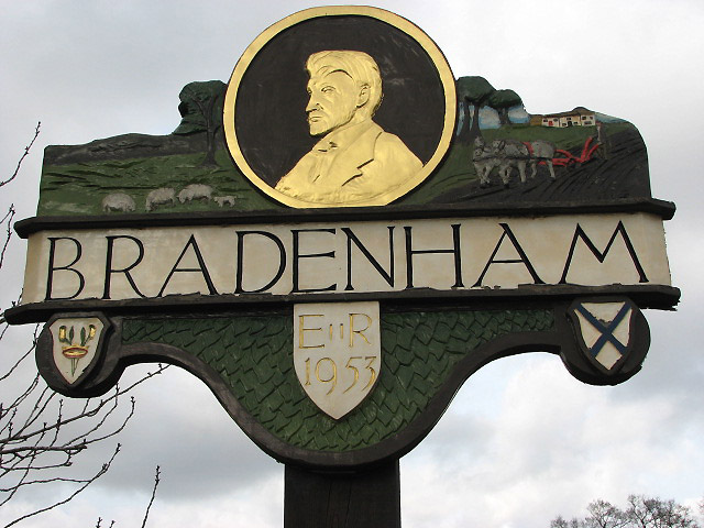 Bradenham - village sign
