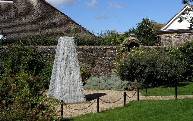Kings Mead School War Memorial, Carlton Road, Seaford.