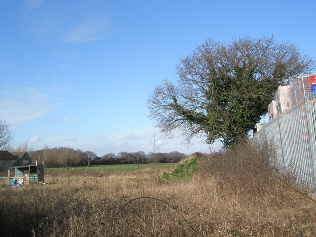 Field to the north of Station Road, Hayling
