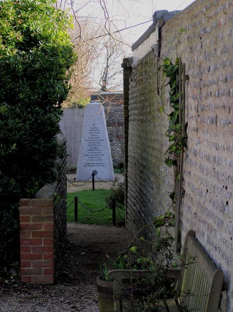 Kings Mead School War Memorial, Carlton Road, Seaford