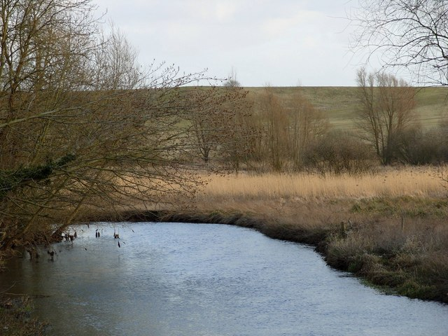 River Yare, from downstream side of Harford Bridge