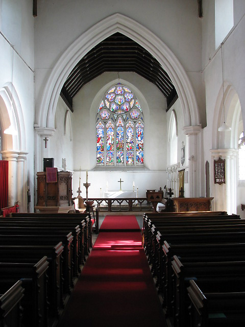 St Andrew's Church - view east