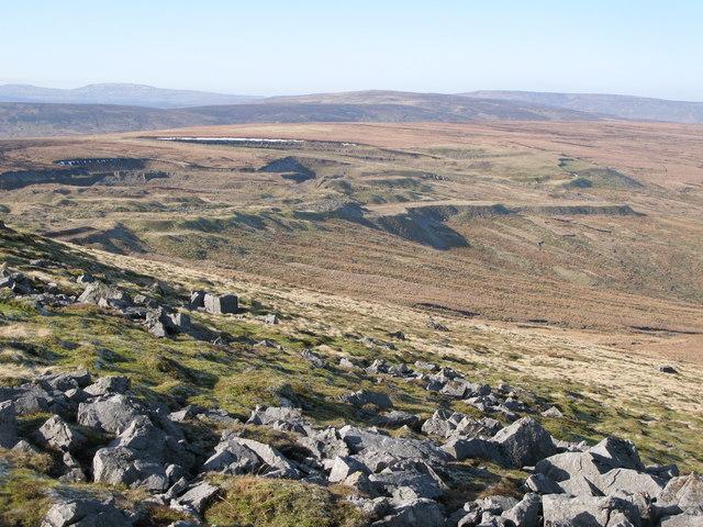 Chapel Fell east of Harthope Head