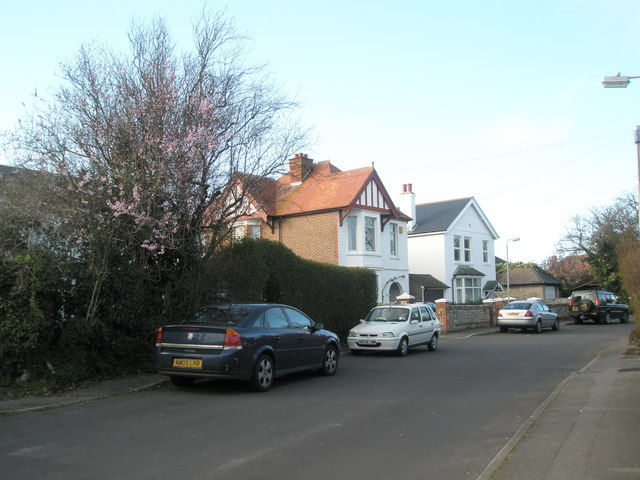 Housing in the middle of South Road, Hayling