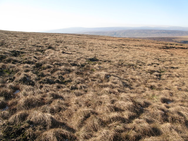 Moorland below Chapelfell Top