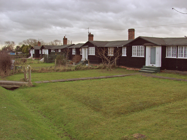 Gibson Lane cottages, Melton