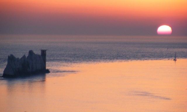 From Alum Bay towards The Needles, Feb08
