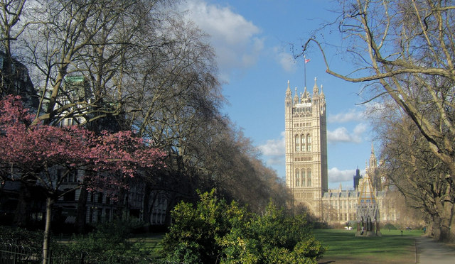 Victoria Tower, Houses of Parliament, London SW1