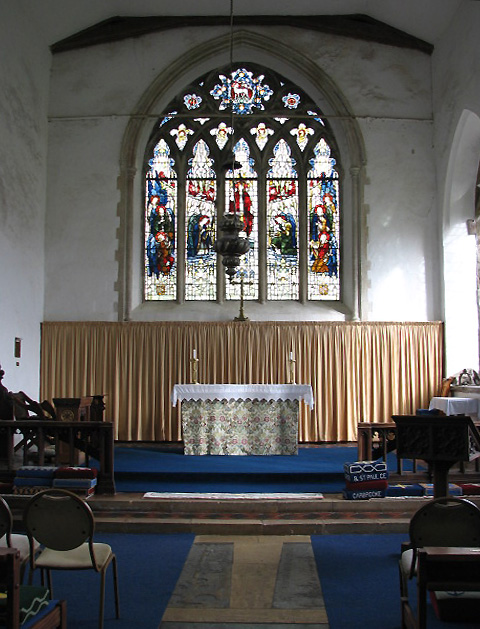 The church of St Peter & St Paul - chancel