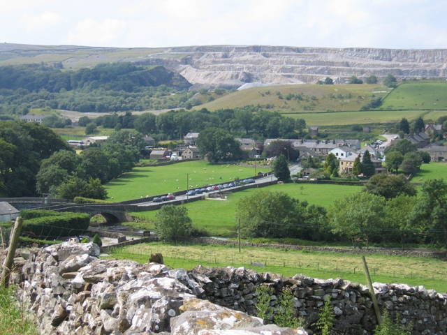 Station Road, Horton from Harber Scar Lane