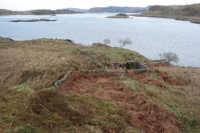Ruins on Coast by Torsa