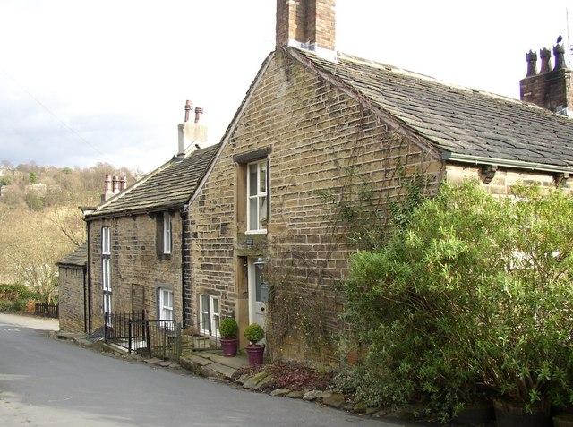 Former Upper Steps Mill, Magdale, Honley