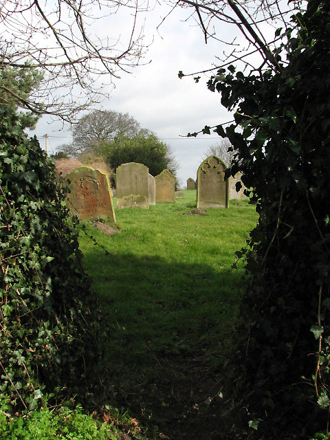 One way into the churchyard