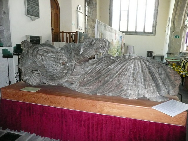 The Jesse in St. Mary's Priory Church, Abergavenny