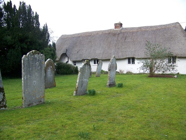 Thatched cottages, Winterborne Whitechurch