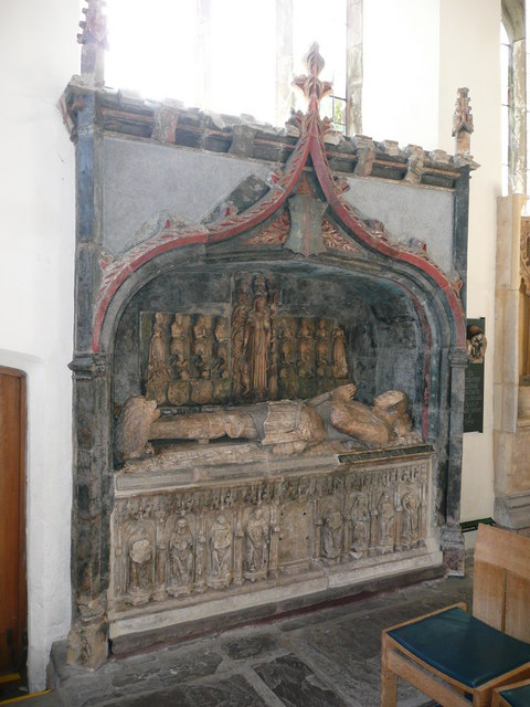 The tomb of Sir Richard Herbert of Ewyas (died 1510)