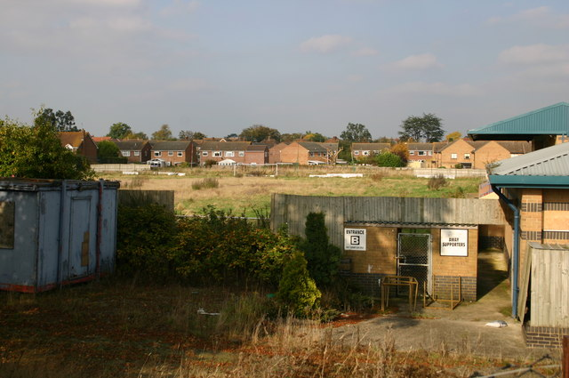 Thame United Football ground in decay