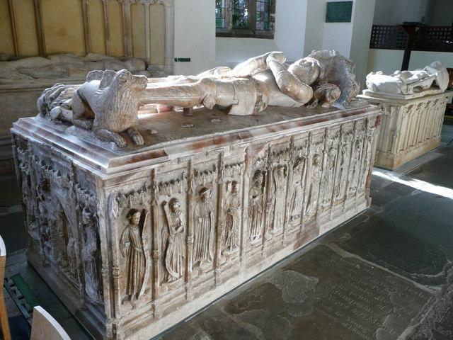 Tomb of Sir William ap Thomas (died 1446)